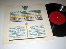 "10"" LP United States Airforce Band AEROSPACE REUNION 15TH ANNIVERSARY RCA NM-"