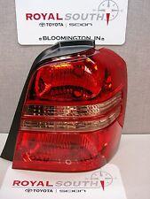 Toyota Highlander Right Rear Tail Light Lamp Genuine OEM OE