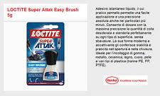 Adesivo istantaneo liquido con pennello Henkel LOCTITE Super Attak Easy Brush 5g