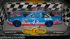 American Muscle Richard Petty 43 STP in a Blue 118 Scale Diecast From ERTL Dc318