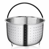Stainless Steel Insert Cooker Steamer Basket For Instant Pot 8qt