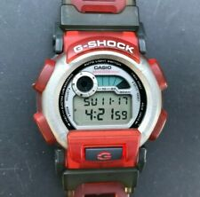 1997 CASIO G-Shock DW-003XS-4T (1647) G-LIDE Red & Gray 44mm watch - New Battery
