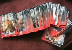 TOPPS LOOSE RANDOM BUNDLES OF 100 WW PAYBACK TRADING CARDS