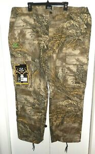 Realtree MAX 1 XT Men's XXL Camo Cargo Pants 6 Pocket (44/46 x 32)