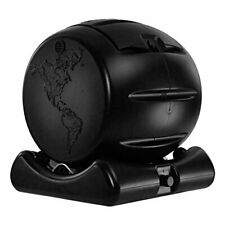 Mini Composting Tumbler Bin Produces Solid and Liquid Compost - Black 17 Gallons