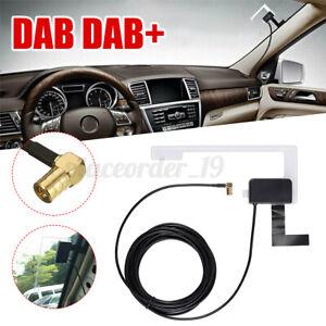 3M UNIVERSAL CAR DAB+FM ANTENNA WINDOW GLASS MOUNT ACTIVE RADIO ADAPTER AERIAL