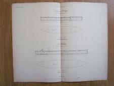 NR 4 - MAHART HUNGARY Österreich AUSTRIA GERMANY REGENSBURG SHIP PLAN 1859 ????