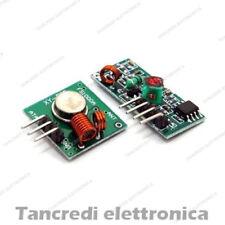 Modulo scheda trasmettitore e ricevitore wireless 433MHz RF arduino shield pic