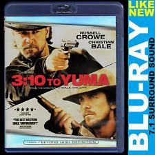 3:10 to Yuma (Blu-ray, 7.1 Surround Sound) Russell Crowe, Christian Bale