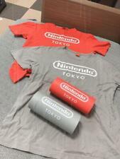 Nintendo TOKYO Logo T-shirt Gray or Red Shibuya  Limited