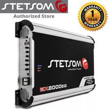 Stetsom EX 8000 EQ 1 Ohm Amplifier Car Audio Stetsom EX8000 3 Day Delivery USA