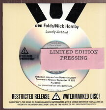 ben folds/nick hornby limited edition cd