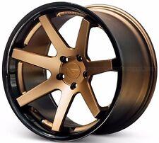 "20"" Ferrada FR1 Matte Bronze 20x9 Concave Wheels for G37 2009-2014"