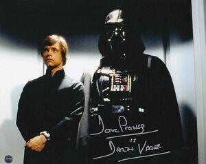 Dave Prowse Star Wars ROTJ Darth Vader SIGNED 8x10 Steiner hologram COA