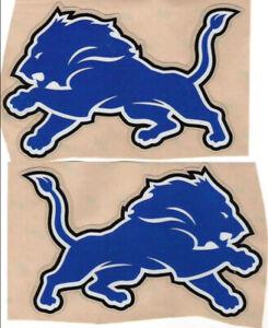 Lions helmet decals  (2  Side Decals) Extras