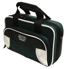 Gator Spirit Series Lightweight Clarinet Case White & Green   GL-CLARINET-WG