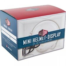 BallQube Mini Football Helmet Holder - Display Case - Holds Riddell, Schutt