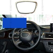 Alloy Steering Wheel Center Decorator Frame Cover trim For Audi Q7 A8 Q5 13-17