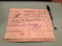 The General Electric  Co Ltd Glasgow Branch 1904  Receipt Ref 50299