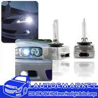 2x D3S 6000k Factory OEM HID Xenon Headlight Lamp Light Bulbs
