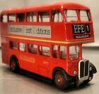EFE 101007 Code 2 AEC Regent RT Class Midland Red  & ORIGINAL CERTIFICATE 1-76