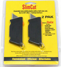 Razor Utility Knife Slim Cut 2 Pack Gator Blade Standard Size, Heavy Duty Blades