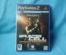 Playstation 2  ps2 game : Splintercell, Pandora tomorrow NRFB  collectors item
