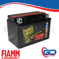 BATTERIA MOTO FIAMM AGM FTX9-BS  12V 8Ah SUZUKI BURGMAN 400 COMFORT EDITION 25kw