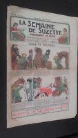 Revista Dibujada La Semana De Suzette que Aparecen El Jueves 1934 N º 35 ABE