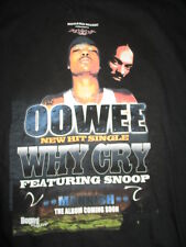 Bogard Music Presents OOWEE New Hit Single WHY CRY (XL) T-Shirt SNOOP DOGGY DOGG