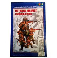 REGGIMENTO MOTORIZZATO BELGRADO 1941 SOLDATI MILITARI 1:35 TRUMPETER N. 00403