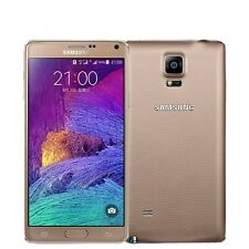 SAMSUNG Smartphone Galaxy Note IV 4 SM-N910F 4G LTE 32GB Factory Unlocked Gold