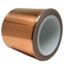 Copper Foil Tape (2inch x 18ft) for Guitar  EMI Shielding, Slug Repellent,