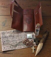 Vampire Killing Hunting Slayer Travel Kit Case Brown Halloween Prop