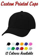 Custom Personalised Baseball Hat Cap Gift