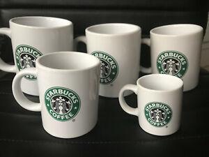 STARBUCKS Coffee Mug Old Siren/ Mermaid Logo rare collectible mugs