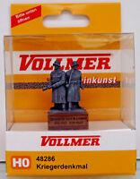 VOLLMER 48286 - H0 1:87 - Kriegerdenkmal - Steinkunstsockel -NEU in OVP