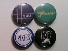 "4 x Pixies 1"" Pin Button Badges music"