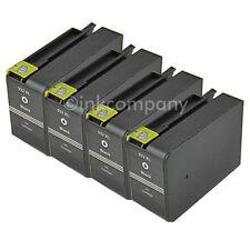 4 Patronen für HP 932 XL schwarz Officejet 6100 Eprinter 6600 E-All-In-One 6700