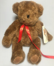 Brown Vermont Teddy Bear Co Limited Edition 1984 Jointed Brown Nwt Plush Stuffed