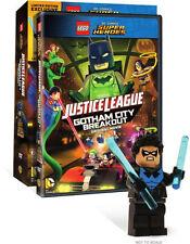 LEGO DC COMICS SUPER HEROES JUSTICE LEAGUE GOTHAM CITY BREAKOUT - DVD - Region 1