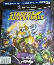 Nintendo Gamecube Starfox Adventures Official Players Guide 2002