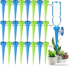 Plant Self Watering Spikes Garden Drip Automatic Water Device 12/24 Packs Us