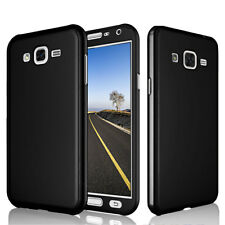 Slim Hard Black Armor Case Cover + Screen Protector For Samsung Galaxy Note 3