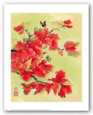 Autumn Leaves I Suzanna Mah Fong Art Print 20x16