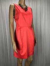 ** TOKITO ** BNWT $79.95 * Sz 16 Coral Pink Corporate Pencil Dress - (B197)