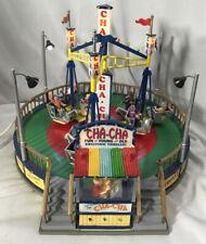 LEMAX Carnival Ride ~ The CHA-CHA ~ Animated, Illuminated (NO SOUND) ~ IN BOX