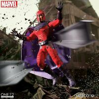 "Mezco One 12 Collective Marvel X-Men Magneto 1/12 Scale 6"" Figure In Stock NOW"