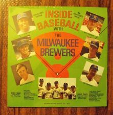 Inside Baseball Milwaukee Brewers 1972 LP Dave May Johnny Logan Del Crandall