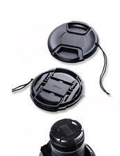 62mm Snap-on STYLE Front Lens Cap for Canon Nikon Sony Pentax DSLR 62mm lens